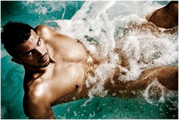 AlessandroTerrinSwimmerNaked
