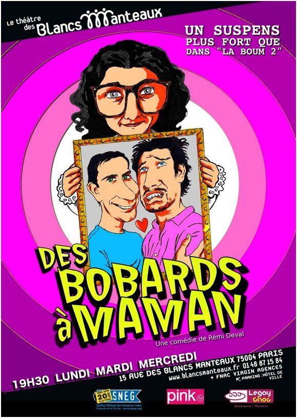 Affiche Des bobards +á Maman V2 BQ