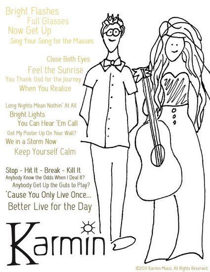 karmin poster