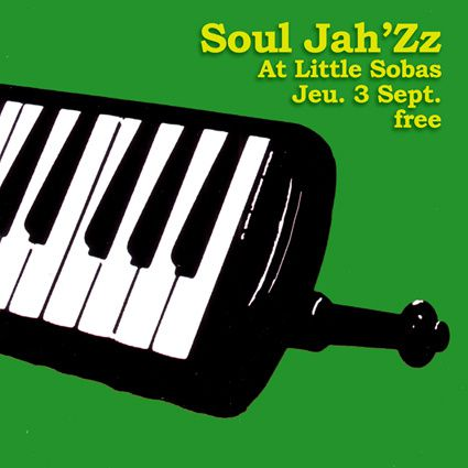 Soul Jah'Zz at Little Sobas