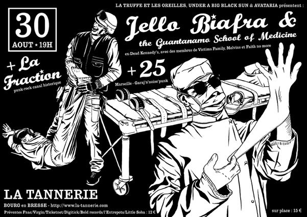 Live Jello Biafra & guests