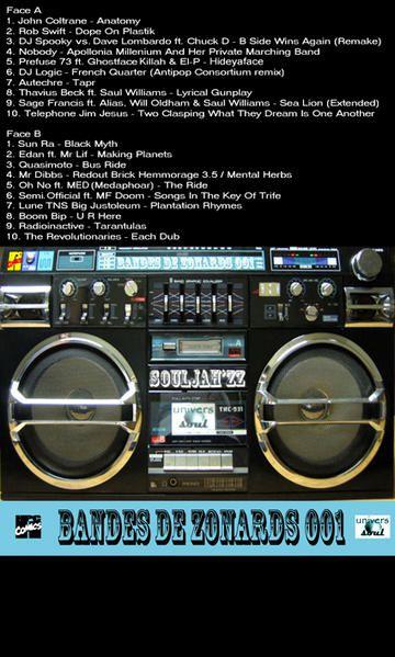 Bandes de Zonards, session 001 by Souljah'Zz (mix) & Drop (graphisme)