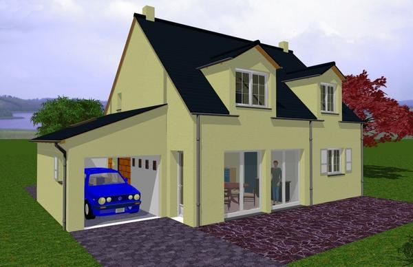 Design amenagement exterieur villa 31 nice for Amnagement maison 3d