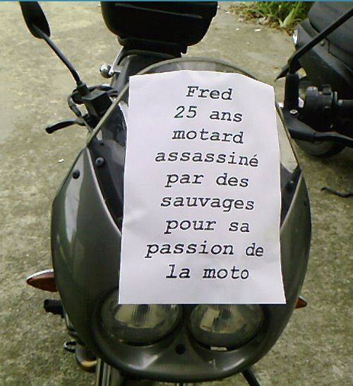 Pour Fred !