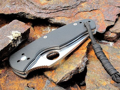 spyderco pliant made in china persistance le coutographe. Black Bedroom Furniture Sets. Home Design Ideas