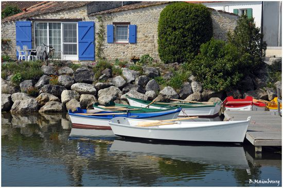 Ile d'Oleron-Port des salines