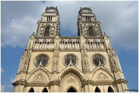 Orleans-Cathedrale Sainte-Croix