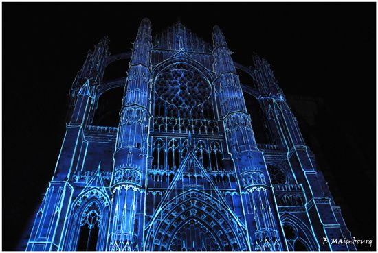 Beauvais-la cathedrale infinie-son et lumiere-2