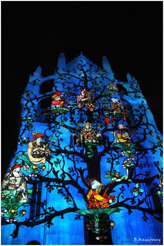 Beauvais-la cathedrale infinie-son et lumiere-9