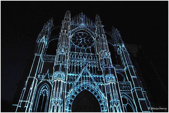 Beauvais-la cathedrale infinie-son et lumiere