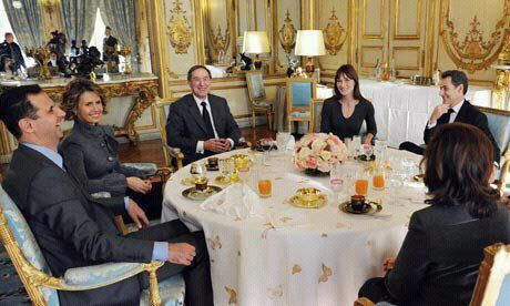 sarkozy et un repas entre amis informations. Black Bedroom Furniture Sets. Home Design Ideas