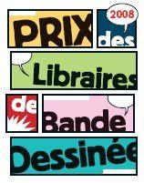 Prix des Libraires de Bande Dessinée 2008