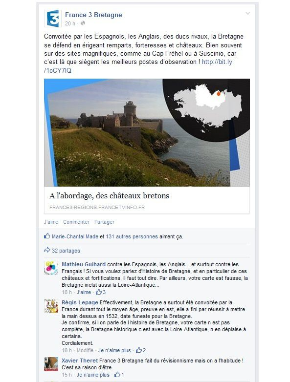 France 3 Bretagne Facebook jpeg