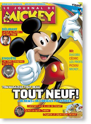 le journal de mickey fait peau neuve pmspg le blog des fans de bd disney picsou donald. Black Bedroom Furniture Sets. Home Design Ideas