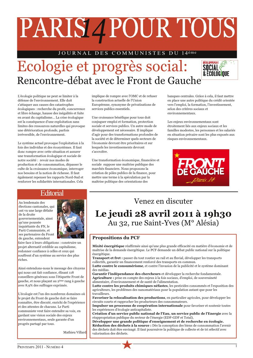 journal section n°4