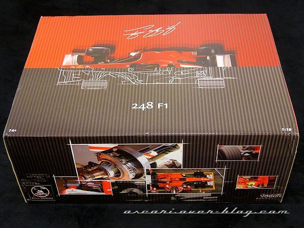1-18 Ferrari 248 F1 Anatomy of a Champion Schumacher Hot Wh