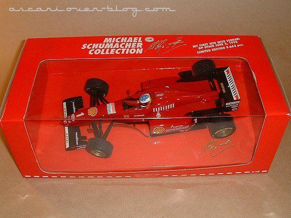 1-18 Ferrari F310 pneux pluie Schumacher Minichamps