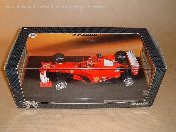 1-18 Ferrari F1-2000 Schumacher Hot Wheels