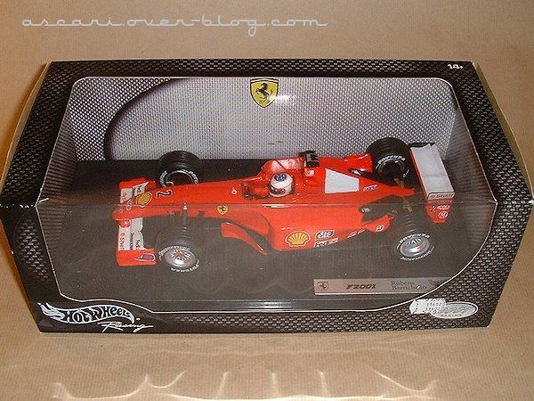 1-18 Ferrari F2001 Barrichello Hot Wheels