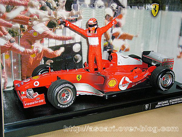 1-18 Ferrari F2004 Schumacher world champion Hot Wheels 0
