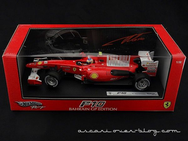 FERRARI F10 ALONSO 2010 HOT WHEELS 00