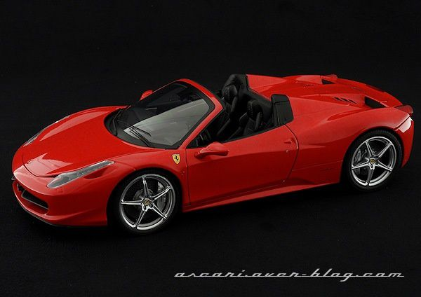 1-18 FERRARI 458 SPIDER ELITE 03