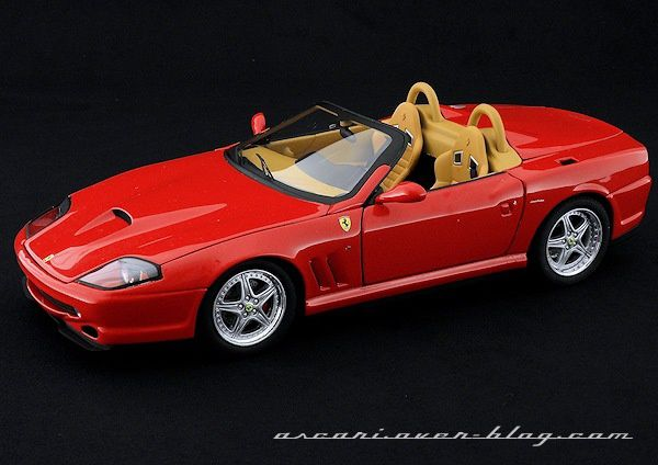 1-18 FERRARI 550 BARCHETTA ELITE 03