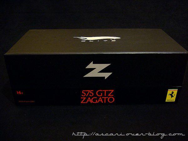 1-18 FERRARI 575 GTZ rouge Super Elite 1024 04