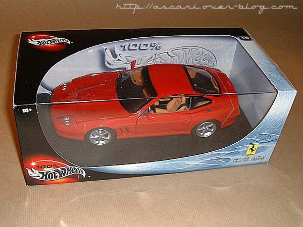 1-18 Ferrari 575 MM Hot Wheels