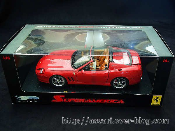 1-18 Ferrari 575 Superamerica serie Elite Hot Wheels 2