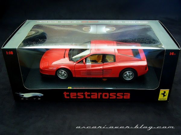 1-18 Ferrari Testarossa serie Elite Hot Wheels 2