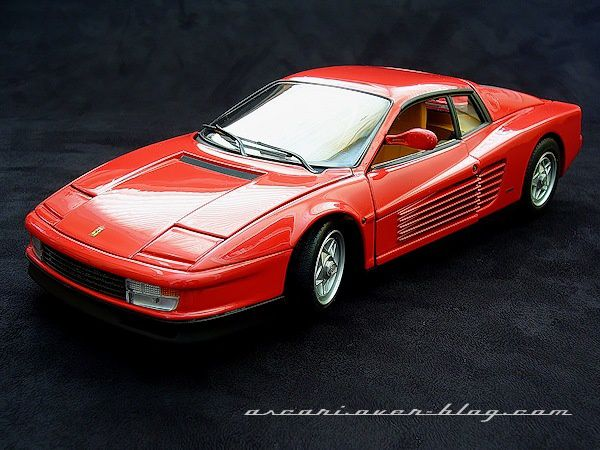 1-18 Ferrari Testarossa serie Elite Hot Wheels 4