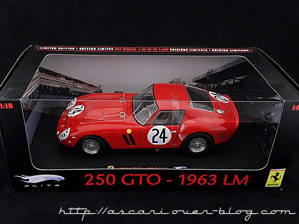 1-18 Ferrari 250 GTO N°24 Elite 01