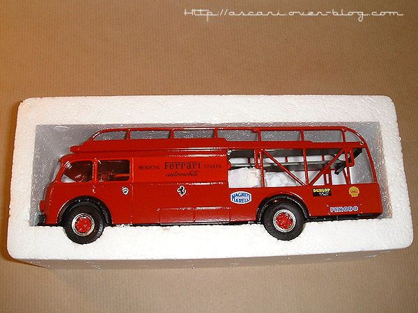 1-43 Fiat 642 camion transport Ferrari Old Car 1