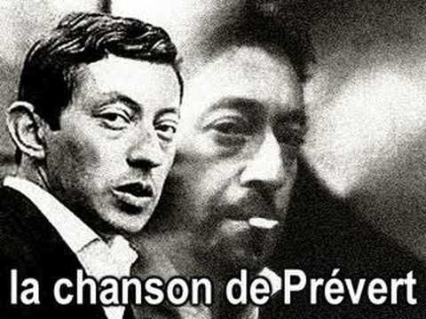 Gainsbourg hommage a Prevert