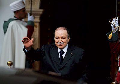 Bouteflika vers un quatrieme mandat