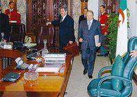 algerie - conseil des ministres