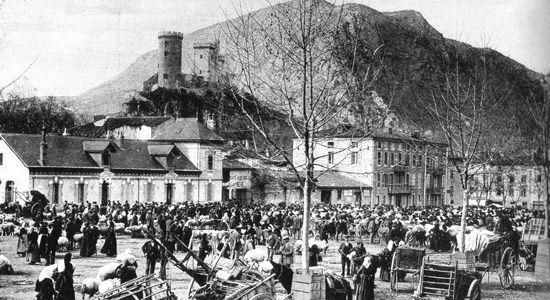 Champ de foire Foix