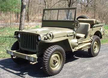 Jeep militaire americaine