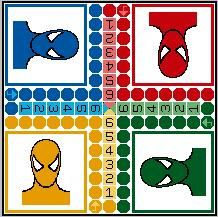 jeu de dada spiderman