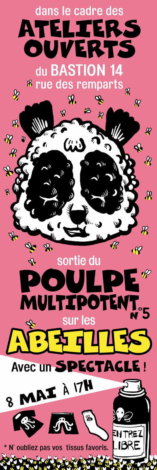 flyer poulpe