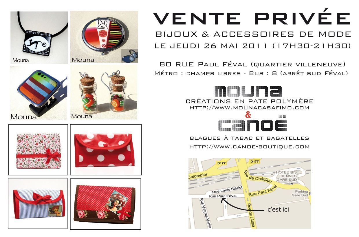 invitation vente privée