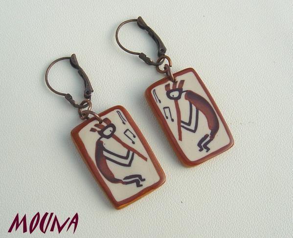 Tarifs: 10 à 13 euros/paire de boucles d'oreilles (pour connaître la disponibilité, cliquez sur la paire de boucles d'oreilles).