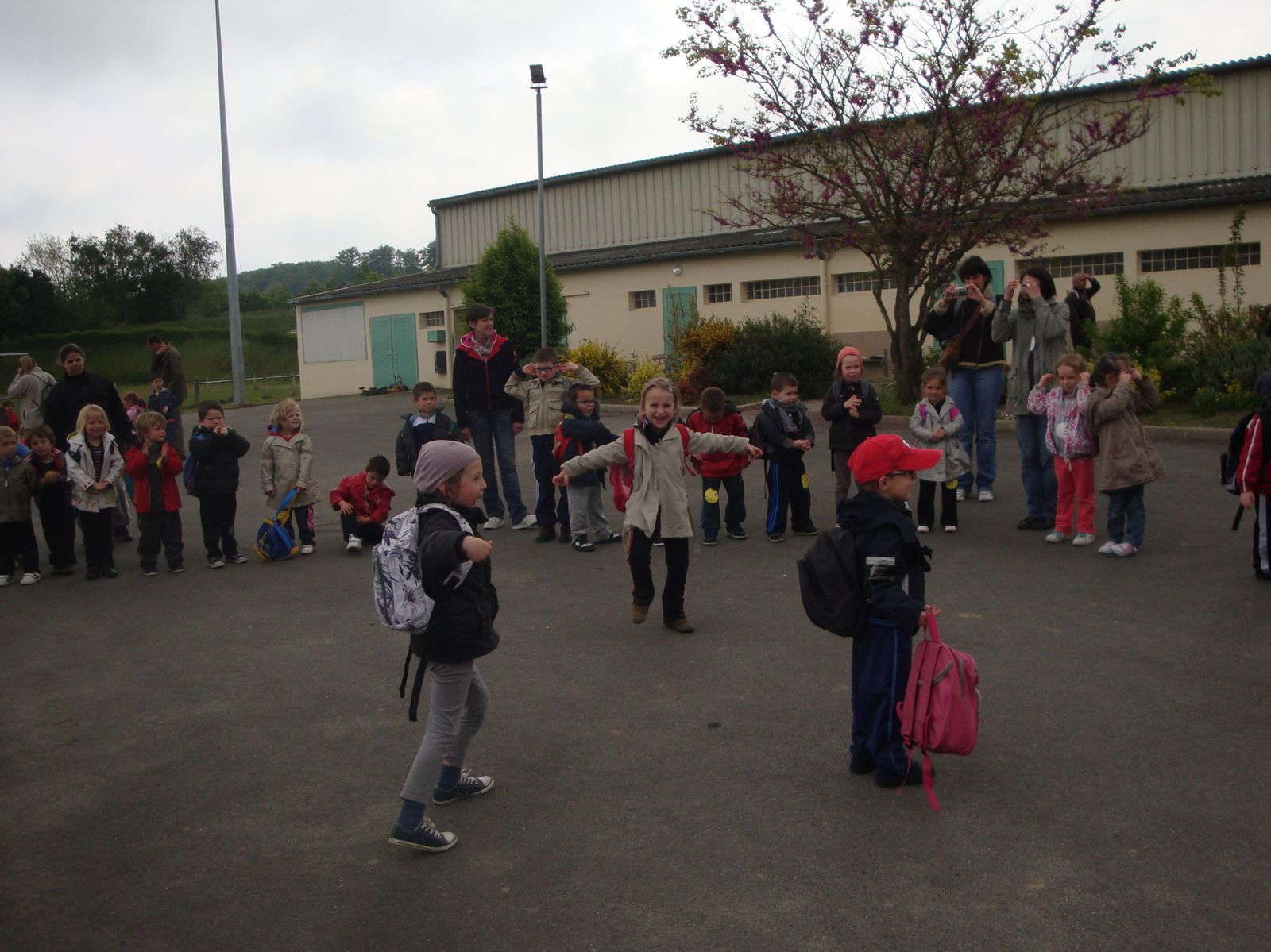 Rencontres sportives maternelle