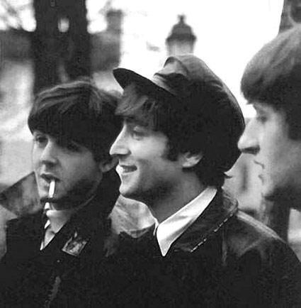 The Beatles , les quatres garçons dans le vent