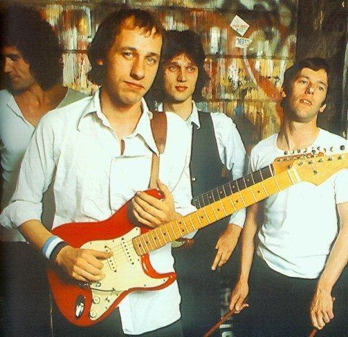 Le groupe Dire Straits en 1978
