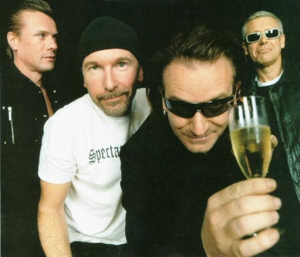 Le grand groupe de rock U2