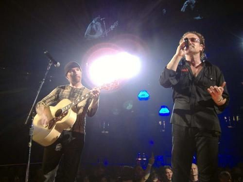 U2 le groupe Rock phare en concert