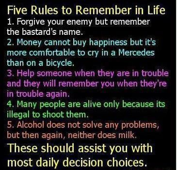 Five-rules-to-remember