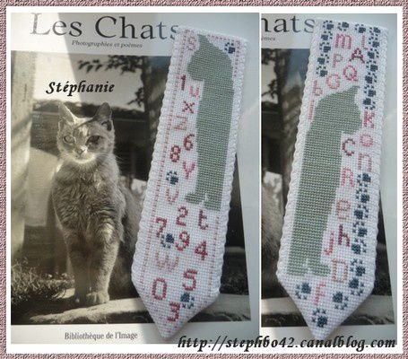 Album - Marque-Page-Chat